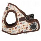Puppia® Dog Story Soft Harness for Dogs - brown