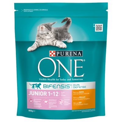 avis sur purina one junior pour chaton croquettes chat purina one zooplus. Black Bedroom Furniture Sets. Home Design Ideas