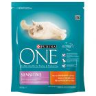 Purina ONE Sensitive Adult Turkey & Rice Dry Cat Food