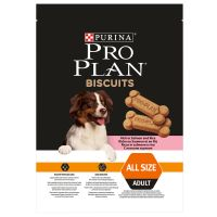 Purina Pro Plan Biscuits Adult Salmone e Riso