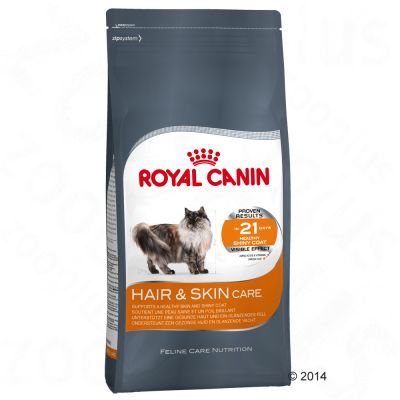 avis sur royal canin hair skin care pour chat croquettes chat royal canin zooplus. Black Bedroom Furniture Sets. Home Design Ideas