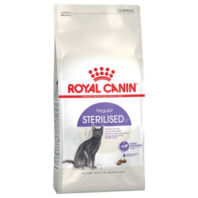 avis sur royal canin sterilised 37 pour chat croquettes chat royal canin zooplus. Black Bedroom Furniture Sets. Home Design Ideas