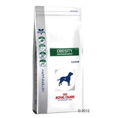 Royal Canin Veterinary Diet Obesity Management DP 34 pour chien