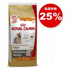 Royal Canin Yorkshire Terrier Adult 7.5kg + 2.5kg Free!