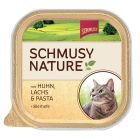 Schmusy Nature en tarrina 6 x 100 g