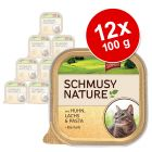 Schmusy Nature en tarrina 12 x 100 g