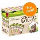 Schmusy Nature Pouches Mixed Trial Pack 12 x 100g