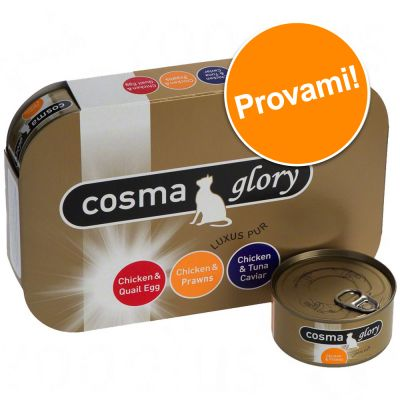 Set prova Cosma Glory in gelatina