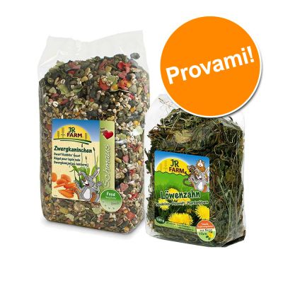 Set prova misto! JR Farm per conigli nani