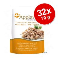 Set Risparmio! Applaws Buste in Jelly 32 x 70 g