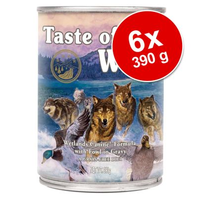 Set risparmio! Taste of the Wild 6 x 390 g