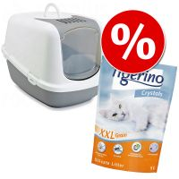 Set Toilette Savic + 5 l Tigerino
