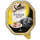 Sheba Schale in Mousse, Finesse Mousse - Huhn