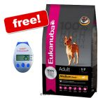 Small Bag Eukanuba Dog Food + Eukanuba Pedometer Free!
