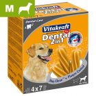 Snacks dentales para perros Vitakraft Dental 3in1 L/M