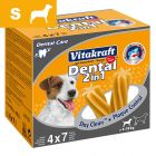 Snacks dentales para perros Vitakraft Dental 3in1 S