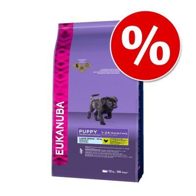 Sonderpreis! 3 kg Eukanuba Puppy Large Breed Huhn