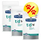 Sparepakke Hill's Prescription Diet Feline t/d