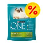 Sparpack Purina ONE Indoor Formula 6 x 1,5 kg