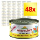 Sparpack: 48 x 70 g Almo Nature Legend