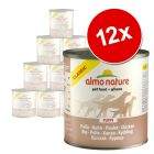 Sparpaket Almo Nature Classic 12 x  280 g / 290 g