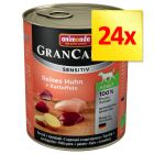 Sparpaket Animonda GranCarno Sensitive 24 x 800 g