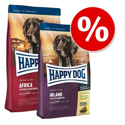Sparpaket Happy Dog Supreme 2 x 12,5 kg im Mix