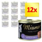 Sparpaket Miamor Feine Filets in Jelly 12 x 185 g