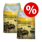 Sparpaket Taste of the Wild 2 x 13 kg