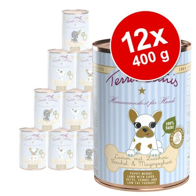 Sparpaket Terra Canis Welpenfutter 12 x 400 g