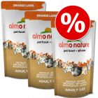 Sparpaket: 3 x 750 g Almo Nature Label Orange oder Rouge