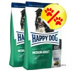 Säästöpakkaus: Happy Dog Supreme Fit & Well Medium Adult