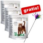 2/3 store poser Perfect Fit + Trixie drillepind gratis!
