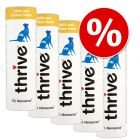 Super-Sparpaket: 10 x  15/25 g Thrive Katzensnacks