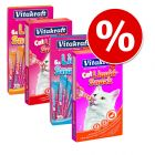 Super-Sparpaket: 48 x 15 g Vitakraft Cat Liquid-Snack