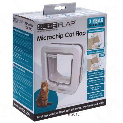SureFlap дверь для прохода кошек с микрочипом