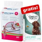 Testen: Savic Puppy Trainer Pads + 1,5 kg Concept for Life Junior gratis!