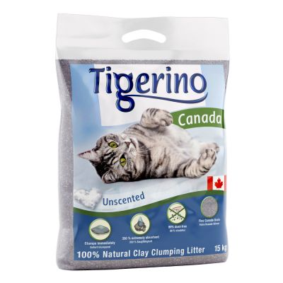 Tigerino Canada Cat Litter Unscented Customer Reviews At