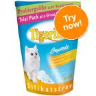 Tigerino Crystals Silicate Cat Litter Trial Pack