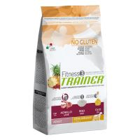 Trainer Fitness 3 Adult Medium/Maxi No Gluten Agnello & Riso