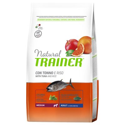 Trainer Natural Medium Adult Pesce & Riso