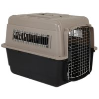Trasportino Vari Kennel Ultra Fashion tortora / nero