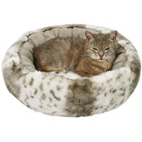 Trixie Plush Cat Bed Leika - Beige