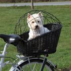 Trixie Rear-Mounted Black Bicycle Basket