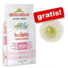 Velika vreča Almo Nature + Pasja igrača Spiky Flash Ball gratis!