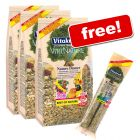 Vitakraft: 3 x 750 g Nature Dinner + 2 Nature Crackers Free!