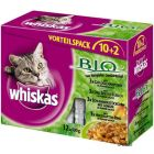Whiskas Bio 12 x 100 g pour chat