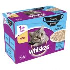 Whiskas 1+ Creamy Soup Fish Selection
