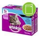 Whiskas 1+ Fish Selection in Gravy