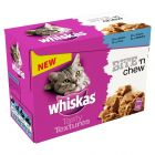 Whiskas Tasty Textures 12 x 85 g pour chat